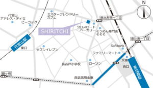 シリッチの地図です。